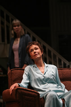 "Amy Morton as Barbara (left) and Deanna Dunagan as Violet in Tracy Letts's ""August: Osage County,"" Imperial Theatre, NYC, 2007. Photo: Joan Marcus"
