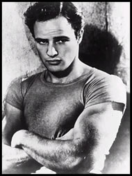 "Marlon Brando as Stanley Kowalski in the film of ""A Streetcar Named Desire,"" 1951"
