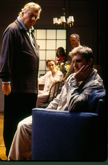 """The Butterfly Collection"" by Theresa Rebeck, Playwrights Horizons, 2000."