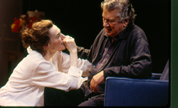 "Marian Seldes and Brian Murray in Theresa Rebeck's ""The Butterfly Collection,"" Playwrights Horizons, 2000."
