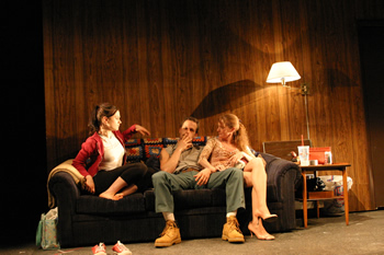 "Anna Paquin, Josh Charles and Melissa Leo in Neil LaBute's ""The Distance from Here"""