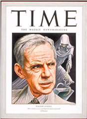 Eugene O'Neill on the cover of Time, Oct. 21, 1946