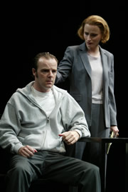 "Brian F. O'Byrne and Laila Robins in Bryony Lavery's ""Frozen"""