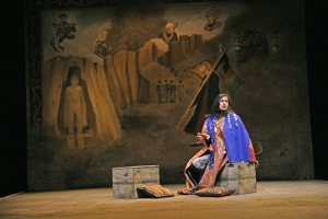 "The Queen of Herat in ""The Great Game."" Photo: John Haynes"
