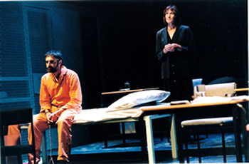 "The Tricycle Theatre production of ""Guantanamo: 'Honor Bound to Defend Freedom'"""