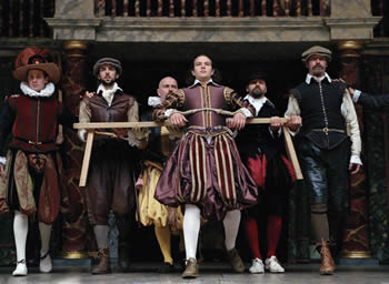 "The cast of the London Globe Theatre's ""Measure for Measure."" Photo: John Tramper"